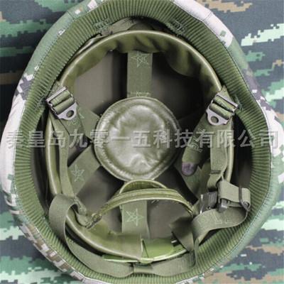 QGF-03头盔悬挂真羊皮头盔内衬PLA印字